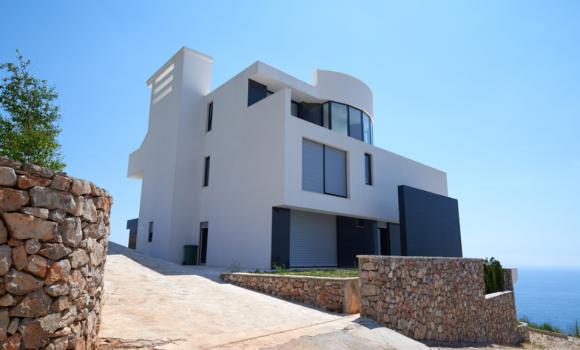 Ravalement d'une maison individuelle (Nice)