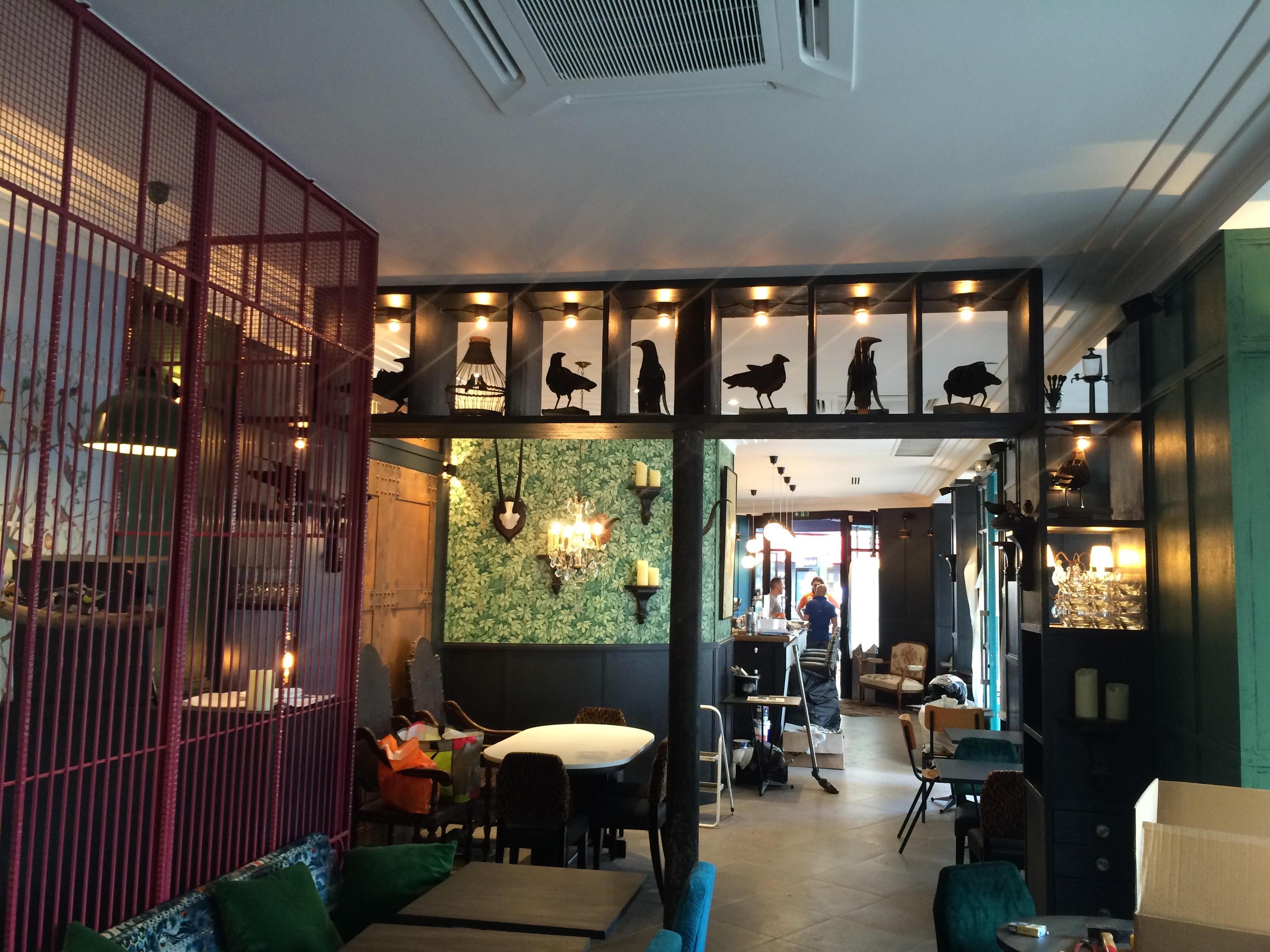 Rénovation restaurant Murmur