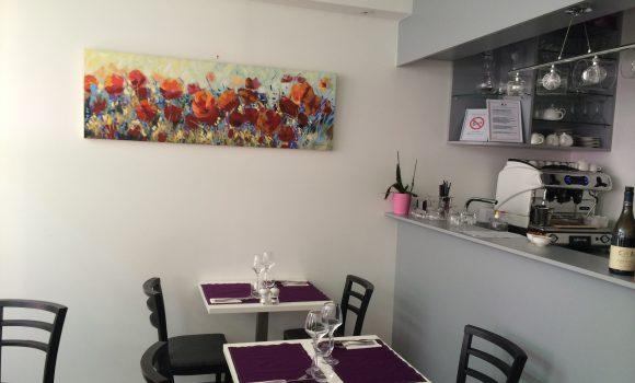 Mise en peinture d'un restaurant à NEUILLY SUR SEINE (92)