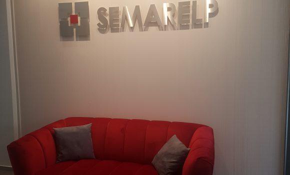 Rénovation au siège du groupe SEMARELP